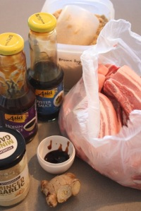 Ingredients ready.